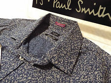 "PAUL SMITH Mens Shirt 🌍 Size 16"" (CHEST 40"") 🌎 RRP £95+ 📮 ABSTRACT FLORAL"