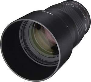 Samyang 135mm F2.0 UMC II Canon EF Full Frame Camera Lens