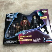 STAR TREK HOLODECK SERIES DATA WORF ALEXANDER FISTFUL OF DATAS PLAYMATES Toy