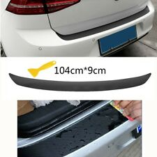 Car Rear Trunk Bumper Protection Sticker Waterproof Fade-resistant Self-adhesive