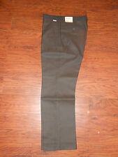 Mens 70s Original Farah Master Ply 2 Perm Press 33x29 Dark Brown Pants Slacks!