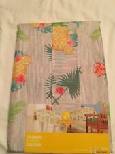 Celebrate Summer Tropical Pineapple Indoor Outdoor Tablecloth Fabric 60X84 Obl