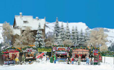 Busch H0 Action Set Christmas Market To Free Selection New/Boxed