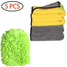 Car Microfiber Towel Set Premium Professional Soft Cleaning Towel Cloth Lint