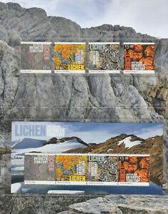 Australian Antarctic Territory 2021 : Lichen - Stamp pack. Mint Condition