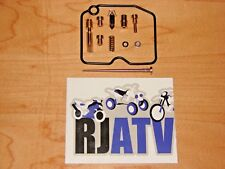 Kawasaki Prairie 400 KVF400 1999-2002 CARBURETOR Carb Rebuild Kit Repair