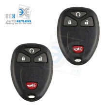 2 Replacement Keyless Entry Remote Start Car Key Fob Control 05-07 Saturn Relay