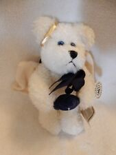 """Boyds Bears Galaxy Bear With Pillow 7"""" Retired With Tags 56111-01 Great Looking"""