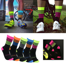 2pcs Sports Cycling Socks Men Women Professional Breathable Sports Bike Socks
