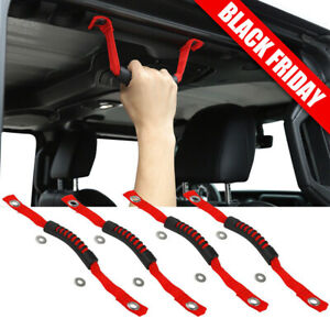 Roll Grab Handles Rear Side Accessories Sports For Jeep Wrangler JL/Gladiator JT