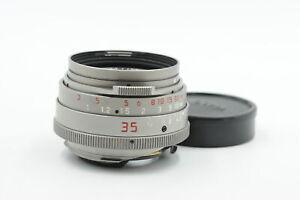 Leica M 35mm f1.4 Summilux Titanium Germany Series 7 Lens #729