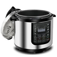 6.3Qt 10-in-1 Multi-Use Programmable Pressure Cooker, Slow Cooker, Warm Keeper