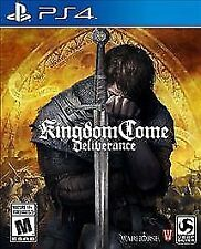 Kingdom Come: Deliverance (Sony PlayStation 4, 2018) Factory Sealed