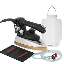 Gravity Feed Electric Steam Iron 140~428℉ 1000W Fast Thermal Conduct
