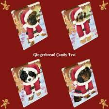 Christmas Gingerbread Candyfest Dog Cat Pet Photo Lovers Sherpa Fleece Blanket