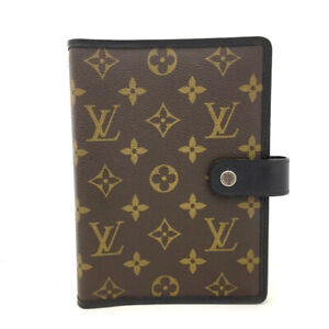 Louis Vuitton Monogram MacArthur Agenda MM Notebook Cover /60871