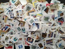 1000 2nd class Commemorative stamps unfranked no gum  Kiloware - Free Postage