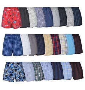 4 PAIR Reed Edward Mens Comfort Waistband Underwear Boxer Shorts L $74 NEW