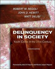 Delinquency in Society : Juvenile Crime in the 21st Century by Matt DeLisi,...