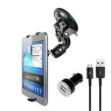 Autohalterung Samsung Tab 3 kfz halter pkw tablet halterung mit ladegerät kabel