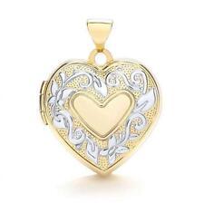 Gold heart Locket Fine Necklaces & Pendants without Stones
