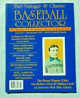 Vintage & Classic Baseball Collector Magazine #10 March-April 1997  (EXC)