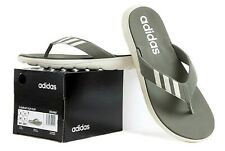 Adidas Men Comfort Flip-Flops Slipper Khaki Slide Slippers Sandals Shoes EG2067