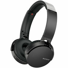 Sony MDR-XB650BT Wireless Bluetooth Headphones Extra Bass BLK MDRXB650BT #74 NEW