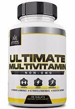 Athletic Mechanics - Ultimate Multivitamin - Non-GMO Comprehensive Multivitamin