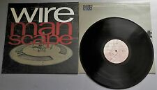 Wire - Manscape UK 1990 Mute Records LP with Inner Sleeve