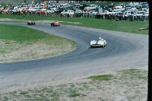 1950s Auto Racing Candid race car Kodak Red Border Original 35mm SLIDE Ha16