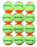 PD039; 12 x Meister S2 (Stage 2) Orange Spot Tennis Balls - 50% slower bounce su