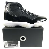 Air Jordan 11 Retro Jubilee 25th Anniversary Size 9 Mens Black White Sneakers