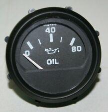 Faria Euro Gauge Oil Pressure Gauge 80 PSI 12803 MD