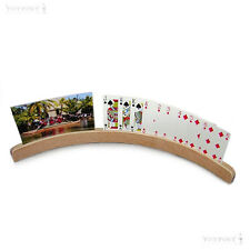 Card Holder Wooden Curved Playing Cards Photos Birthday Christmas Cards 1 One
