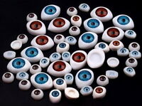 6mm Acrylic Doll Eyes Blue New Plastic Eye 100pc !!
