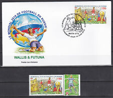 Wallis et Futuna 2018 Football Coupe du Monde world cup Russia FDC + stamp