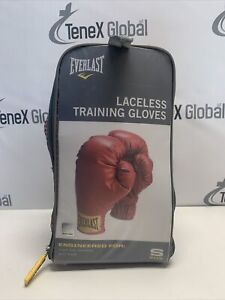 Everlast Laceless Training Gloves Size S Red E-9