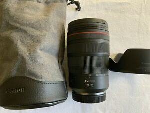 Used Canon RF 24-70mm f/2.8L IS USM Lens In Excellent Condition!! Look, Look!!