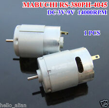 Mabuchi RS-380PH Hobby Motor Large Torque DC 7.2V 14000RPM For RC Boat Drill DIY