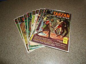 TARZAN SILVER AGE LOT OF 9 BOOKS