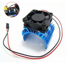 Aluminum Heat sink with 5V Cooling Fan for RC 1/10 Car 540 550 3650 Size Motor