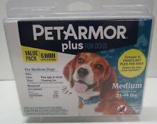 PetArmor Plus Dog Flea and Tick Medium Dog 23-44 lbs Squeeze on Treatment