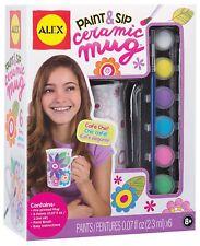Paint Ceramic Mug Toys for 8 Years Old Girls Kids Craft Sip Gift Desing Decorate