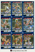 2005 AFL Teamcoach Series Blue Platinum Trading Card Team Set St. Kilda (10)
