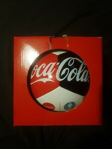 Coca Cola UEFA Euro 2020 Football  NEW With Branded Pump