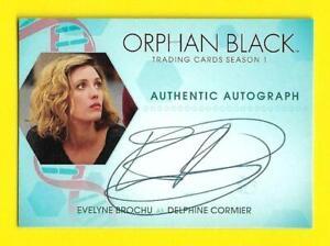 Cryptozoic Orphan Black Season 1 Autograph Evelyne Brochu as Delphine Cormier EB