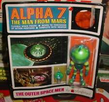 COLORFORMS ALIEN ALPHA 7 MOC THE  OUTER SPACE MEN THE MAN FROM MARS  FEW ISSUES