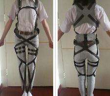 Attack on Titan Shingeki no Kyojin Recon Corps Belt Hookshot Cosplay Costumes