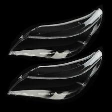 Pair Headlight Clear Lens Cover Lamp Shade For BMW E60 E61 525i 530i 540i 550i